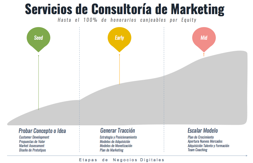 Servicios de Consultoría de Marketing para Start-ups